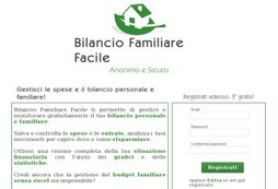 Bilancio Familiare Facile.it